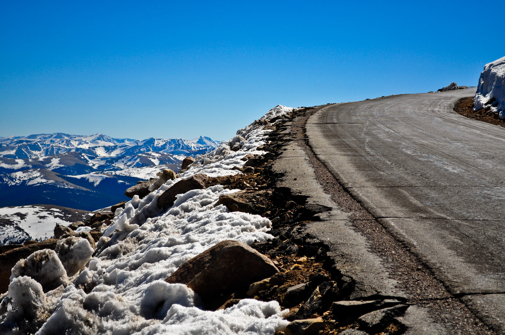 The Highest Paved Road In North America
