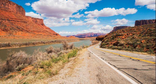 Utah 128 to Moab