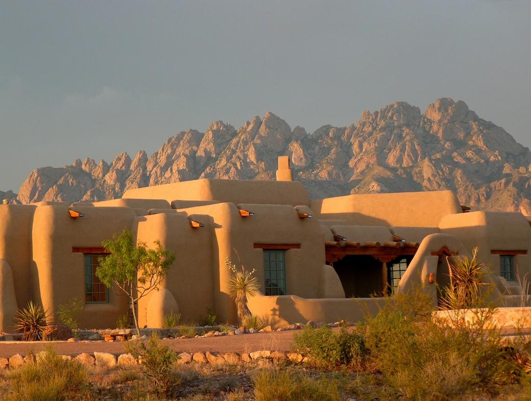 Pueblo architecture in Santa fe