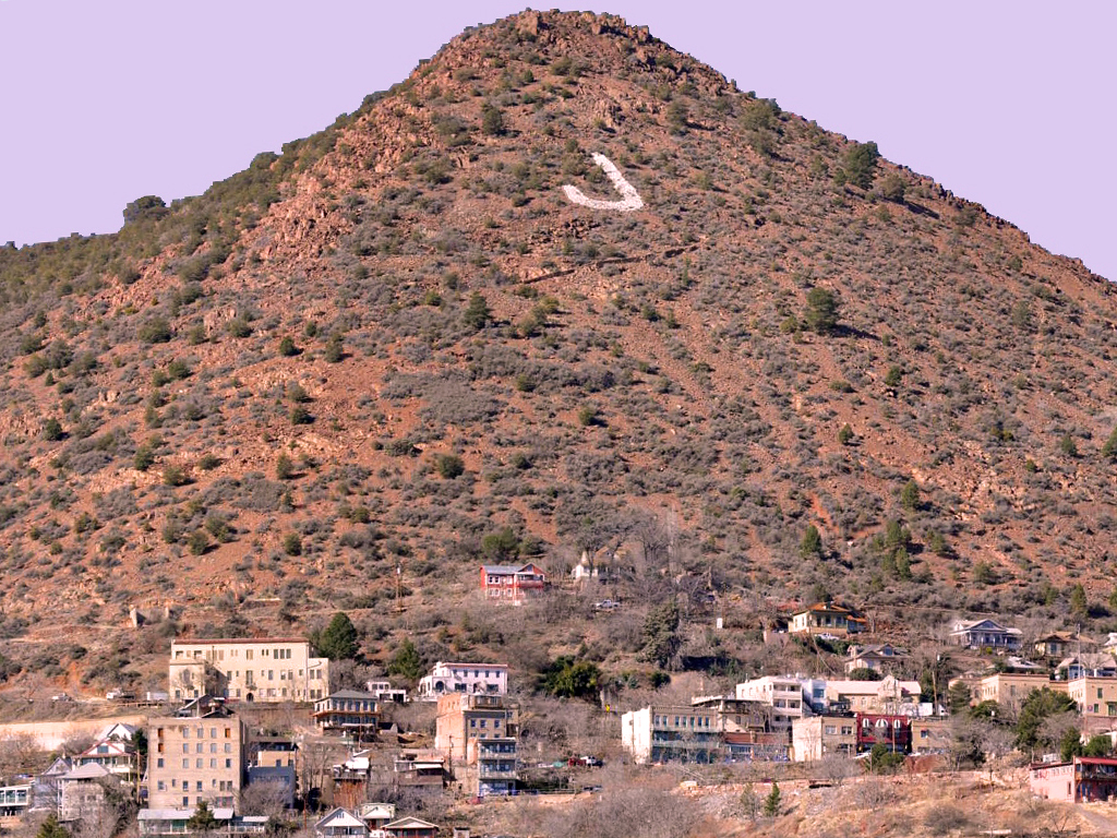 Jerome-Az-Cleopatra-Hill-J-Mountain