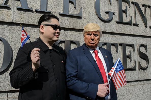 HONG KONG-NKOREA-US-POLITICS-KIM-TRUMP-OFFBEAT